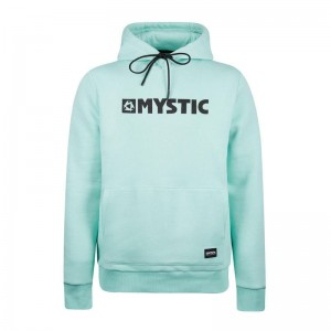 BLUZA MYSTIC BRAND HOOD SWEAT MINT GREEN