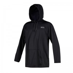 MYSTIC CHILLER HOODED LS QD BLACK