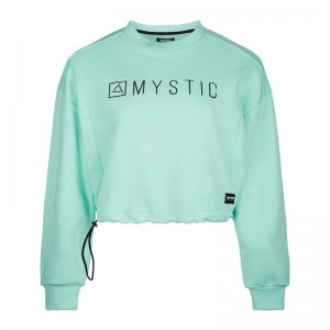 BLUZA MYSTIC FRECKLES SWEAT MINT GREEN